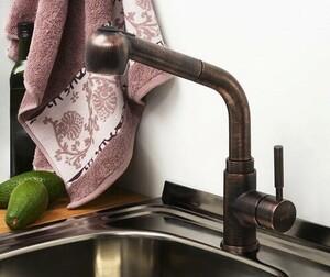 Смеситель для кухни WasserKRAFT A8247 с выдвижной лейкой