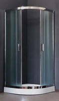 Душевой уголок 100 см. Royal Bath RB 100HK-T-CH