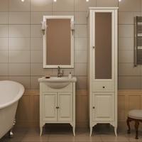 Комплект мебели для ванной комнаты OPADIRIS ГЛОРИЯ 55 СЛОНОВАЯ КОСТЬ