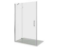 Душевая дверь Good Door SATURN WTW-140-C-CH-L