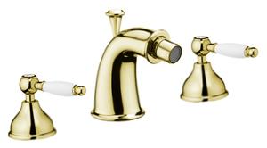 Смеситель для биде Webert Dorian DO710202010 Золото/белый