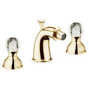 Смеситель для биде Webert Karenina КА710202010 Золото/кристаллы Swarovski