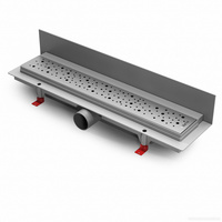 Водоотводящий желоб ALPEN Drops ALP-450D3 для монтажа вплотную к стене