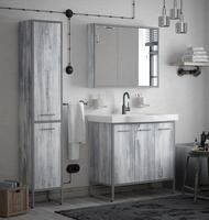 Комплект мебели COROZO Айрон 90 серый/арт