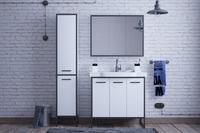 Комплект мебели COROZO Айрон 90 черный/белый
