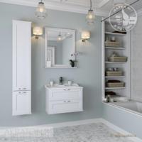 Комплект мебели для ванной комнаты Акватон ЛЕОН 65 (дуб белый)