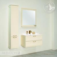 Комплект мебели Акватон ЛЕОН 80 (дуб бежевый)