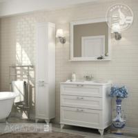Комплект мебели Акватон ЛЕОН 80Н (дуб белый)