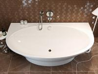 AquaStone Мальта 189 ванна из литого мрамора