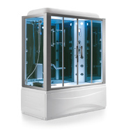 Душевая прямоугольная кабина с ванной SSWW B615 (L/R)