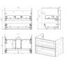Комплект мебели Alvaro Banos Barcelona 80