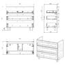 Комплект мебели Alvaro Banos Barcelona máximo 100