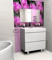 Комплект мебели для ванной комнаты Stella Polar Белинда 60