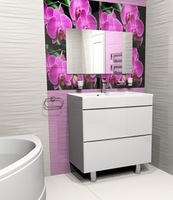 Комплект мебели для ванной комнаты Stella Polare Белинда 65