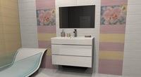 Комплект мебели для ванной комнаты Stella Polar Белинда 60 подвесная