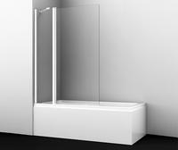 Шторка в ванну WasserKRAFT Berkel 48P02-110WHITE Fixed