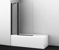 Шторка в ванну WasserKRAFT Berkel 48P02-110BLACK Fixed