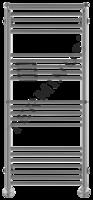 Водяной полотенцесушитель Терминус АВРОРА С 2 ПОЛКАМИ П22 (7-5-5-5) 532