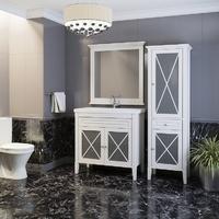 Комплект мебели OPADIRIS ПАЛЕРМО 90 БЕЛЫЙ