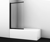 Шторка в ванну WasserKRAFT Dill 61S02-80