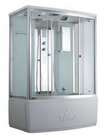 Душевая прямоугольная кабина с ванной TIMO Comfort T-8870 C