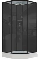 Душевая кабина 100 см.TIMO ILMA 701 Black