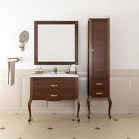 Комплект мебели OPADIRIS ФРЕСКО 100 СВЕТЛЫЙ ОРЕХ