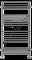 Водяной полотенцесушитель Терминус АВРОРА С 2 ПОЛКАМИ П20 (4-6-6-4) 532