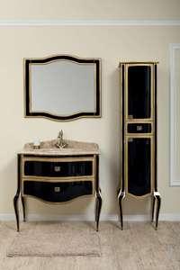 Комплект мебели TIMO Ellen 90 M-V Черное золото