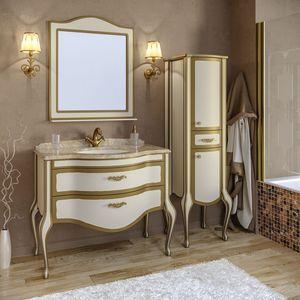 Комплект мебели TIMO Ellen Plus 100 M-V 9001 Золото