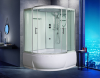 Душевая угловая кабина с ванной WeltWasser WW500 EMMER 11055-2