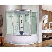 Душевая угловая кабина с ванной WeltWasser WW500 EMMER  15055