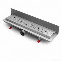 Водоотводящий желоб ALPEN Square ALP-350S3 для монтажа вплотную к стене