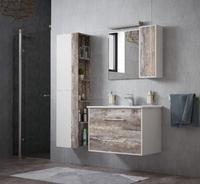 Комплект мебели для ванной комнаты COROZO Гольф 65 антик