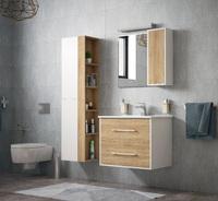 Комплект мебели для ванной комнаты COROZO Гольф 65 сонома