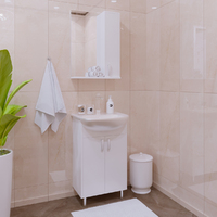 Комплект мебели для ванной комнаты Stella Polar Колор 50 белая