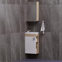 Комплект мебели для ванной комнаты COROZO Комо 40 сонома