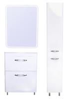 Комплект мебели для ванной комнаты Style Line Каре 60 (2 ящ.) Люкс белая, PLUS