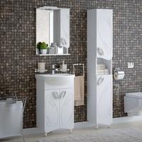 Комплект мебели для ванной комнаты COROZO Лидер 50
