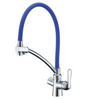 Смеситель для кухни  Lemark Comfort LM3070C-Blue