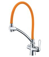Смеситель для кухни  Lemark Comfort LM3070C-Orange