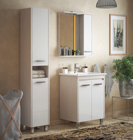 Комплект мебели для ванной комнаты COROZO Лорена 65 лайн