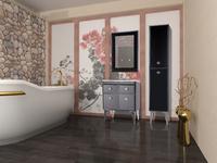 Комплект мебели для ванной комнаты Bellezza Lusso