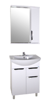 Комплект мебели для ванной комнаты АСБ мебель Мессина 60