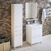 Комплект мебели для ванной комнаты COROZO Мирэль 60