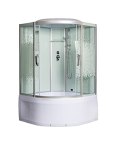 Душевая угловая кабина с ванной МОНОМАХ 135/135/55 С МЗ