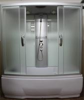 Душевая прямоугольная кабина с ванной RIVER NARA 150/80/50 МТ