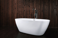 Ванна акриловая NT Bathroom NT04 LAGO D'ORTA