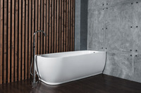 Ванна акриловая NT Bathroom NT101 LAGO DI NEMI