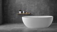 NT Bathroom NT204 VENEZIA ванна из литого мрамора